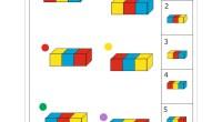 Os dejamos estas actividades para trabajar la percepción espacial de formas geometricas, en la que nuestros alumnso/as deben de emparejar una serie de formas espaciales con sus correspondientes representaciones.