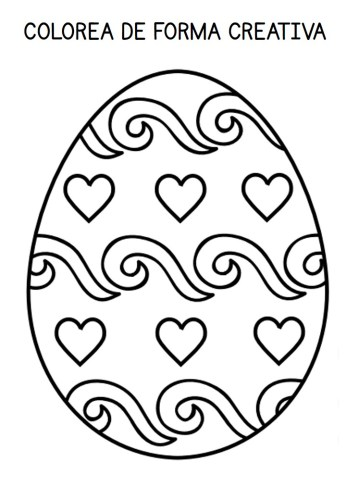 Vamos A Colorear Huevos De Pascua De Forma Creativa 20 Diseños