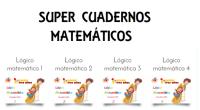 Os dejamos 4 cuadernos para trabajar las matemáticas en educación infantil o preescolar realizado por la web amiga, materiales de aprendeizaje.