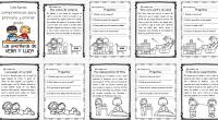 Hoy os dejamos estas pequeñas lecturas comprensivas ideales para los primeros ciclos de primaria totalmente originales pues los personajes de las mismas son nuestros hijos, Luca y Vera.