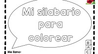 Os dejamos este fantástico silabario listo para descargar y colorear.