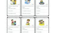 Os dejamos esta serie de sencillas actividades para trabajar la comprensión lectora mediante una imagen un unas sencillas oraciones.
