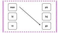 A continuación os traemos una serie de fichas para trabajar la conciencia silábica; formando palabras uniendo las dos sílabas que la componen. En este caso, trabajamos exclusivamente con palabra bisílabas […]
