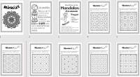 DESCARGA LOS MANDALAS EN PDF CREA Y COLOREA Trabajamos estos divertidos mandalas