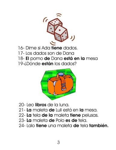 Dictado De Oraciones Y Frases 100 Para Primer Ciclo De Primaria