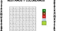 Os dejamos estas sencillas actividades para trabajar la operación básica de la recta de números menores que 10, a la vez que trabajamos la atención coloreando siguiendo un código de […]