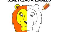 Interesante recopilatorio de fichas de dibujos de animales simétricos para trabajar la lateralidad de nuestros alumnos.