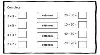 A continuación os traemos una sencilla actividad matemática para practicar la suma de decenas a través de un método muy fácil.