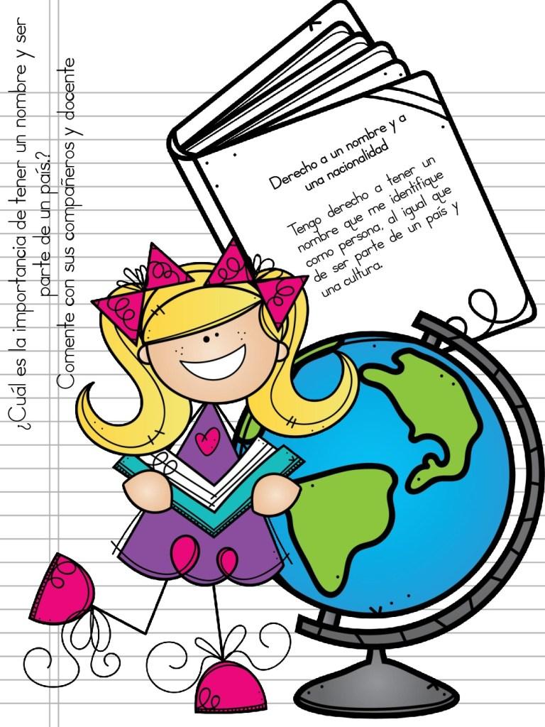 Cuaderno para trabajar los derecho y deberes de los niños ...