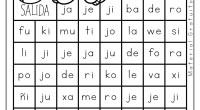 Os dejamos estos divertidos laberintos para trabajar las sílabas.