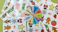 Bingo de navidad en inglés para trabajar el vocabulario básico con primero y segundo.