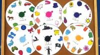 Material para imprimir y recortar con el que podemos trabajar, mediante la metodología Teacch, la identificación y aprendizaje del vocabulario referido a los colores básicos.  Una vez impreso y […]