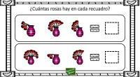 Os hemos preparado con motivo del día de San Valentín esta divertida actividad matemática para practicar el conteo.