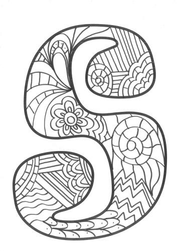 Mandaletras mandalas súper originales con las letras del ...