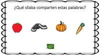 A continuación os traemos un ejercicio de conciencia fonológica, que consiste en identificar la sílaba que comparten una serie de palabras representadas por dibujos; por lo tanto la importancia reside […]