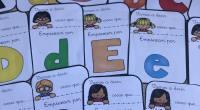 Tarjetitas para trabajar vocabulario en clase, «Di palabras que empiezan por la letra». Un material muy útil para vuestras clases.