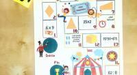 Bienvenidos al Circo matemático 🤹🏼♀️ Os traigo un tablero realizado por @educa_amor con 19 casillas que nos presentan diferentes cuestiones matemáticas. Con instrucciones y fichas para que vuestros alumnos/hijos puedan […]