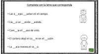A continuación, os proponemos este ejercicio para trabajar en el aula la ortografía. En el hay que completar algunas palabras con la letra correctas entre las dos opciones posible, como […]