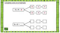 Os dejamos este ejercicio matemático para trabajar la relación que existe entre la multiplicación y la división; y que los alumnos puedan comprender el nexo entre ambas operaciones. Además es […]