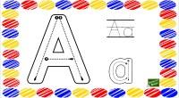 Os dejamos estas fichas con el abecedario completo listo para imprimir y practicar la preescritura a través del repaso del trazo.