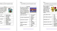Estas 5 PEQUELECTURAS primero y segundo de primaria han sido elaboradas con el objetivo de introducir al alumno de primer curso de primaria en la lectura comprensiva de textos. Vista […]