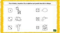 Con la siguiente actividad vamos a trabajar a través del juego el pensamiento creativo y la conciencia semántica utilizando los adjetivos.
