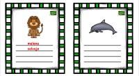 Hoy os traemos estas divertidas tarjetas para trabajar las descripciones; el objetivo de la actividad es escribir cuatro palabras que describan a los animales que aparecen en los dibujos. Con […]