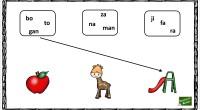 En esta ocasión, os traemos una actividad para trabajar la conciencia fonológica a través de dibujos y las sílabas que forman la palabra de dicho dibujo.