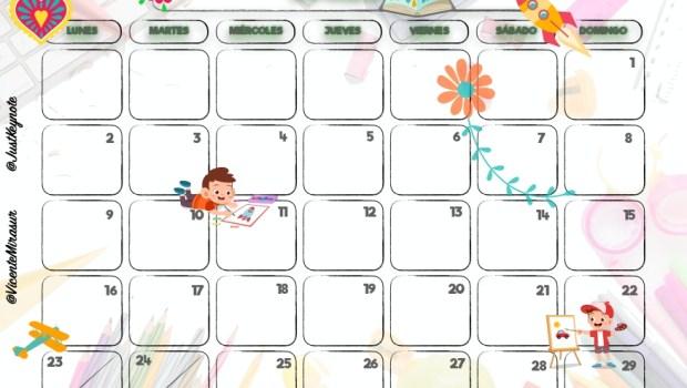 Calendario De 2020 Completo.Completo Y Atractivo Calendario Curso 2019 2020 7 13 Page