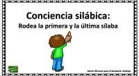 La conciencia silábica se enmarca dentro de la conciencia fonológica, y hace referencia a la capacidad de comprender que el discurso hablado se divide en unas unidades sonoras más pequeñas […]