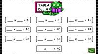 El siguiente ejercicio matemático es un recurso de apoyo para el aprendizaje de las tablas de multiplicar para Primaria; una divertida actividad que convierte el comienzo del aprendizaje de las […]