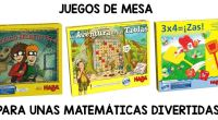 Hoy os traemos un estupendo recopilatorio de Juegos de Mesa para trabajar el cálculo numérico realizado por nuestros amigos de Educamoon. Educamoon está formada por profesionales de la educación comprometidos […]