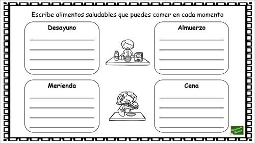 cuentos sobre alimentacion saludable para niños pdf