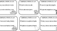 El objetivo de este juego es mejorar la habilidad sintáctica de los alumnos. Para ello deben juzgar si dos oraciones tienen un significado equivalente o no, valorando cómo afectan al […]