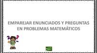En estas actividades nuestros estudiantes deben de emparejar dos partes diferentes para formar correctamente un problema sencillo de matemáticas. La resolución de problemas implica la capacidad de identificar y analizar […]