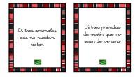 Para trabajar comprensión de oraciones negativas con aquellos alumnos que encuentran dificultad para ello, he preparado una serie de tarjetas con instrucciones que se encuentran en negativo.