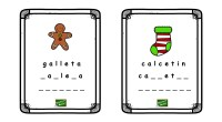 Hoy os traemos una actividad de lectoescritura que consiste en deletrear palabras relacionadas con la temática de Navidad. Este ejercicio puede resultar especialmente para trabajar en el aula con aquellos […]