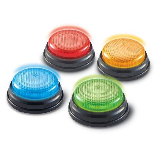 Botones de respuestas con luz y sonido para clases