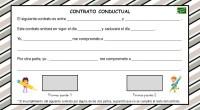 Los contratos conductuales pueden resultar muy útil para establecer acuerdos respecto al comportamiento, no sólo en el aula con el profesor, sino también con compañeros o en casa.