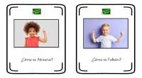 A continuación, os traemos una colección de tarjetas para trabajar las descripciones a través de imágenes reales de niños. Además con este ejercicio podemos trabajar la expresión oral, para ello […]