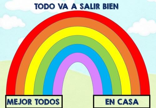 Resultado de imagen de arcoiris todo va ir bien