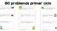 Rebeca Santamaría nos manda esta segunda entrega de problemas estupenda y original recopilación de problemas para el primer ciclo de primaria. Que se suma a las tres anteriormente publicadas.