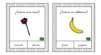 Colección de tarjetas para trabajar la comprensión de preguntas así como el razonamiento lógico. Hay que marcar la respuesta correcta, de las dos opciones posibles.