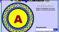 -Orientado a un nivel de 1° y 2° de Educación Primaria. -Vocabulario sencillo. -Especifica si la letra concreta comienza o la contiene. -Material para trabajar de manera oral.