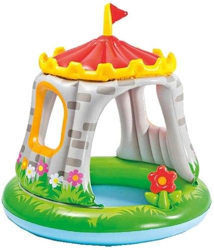 piscina hinchables para niños forma de castillo
