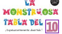 ANTERIORMENTE PUBLICADO DESCARGA LAS TABLAS EN PDF tablas de multiplicar monstruosas VOL-1 AUTORÍA: Vanessa Cuesta Nares https://verparacrearjuntos.blogspot.com/