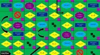 Juego tipo «la escalera» para practicar las tablas de multiplicar de una forma divertida. El tablero está diseñado para ser impreso en A3, a doble cara. (Se recomienda plastificar para […]