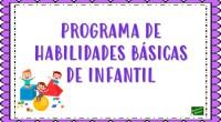 A continuación, os comparto un completo programa de repaso de desarrollo de las habilidades básicas, adecuado al nivel de Infantil. Este programa está compuesto por una colección de cuatro cuadernillos […]
