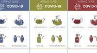DESCARGA LOS CARTELES EN PDF Carteles normas de clase covid-19 2020-2021