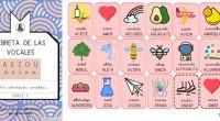 ¡Libreta de las vocales! A E I O U ⭐.📔🔠 Discriminación fonológica, aprendizaje de nuevo vocabulario, funciones ejecutivas 🔠📔